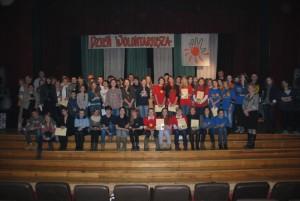 Nagrodzeni Wolontariusze 2012